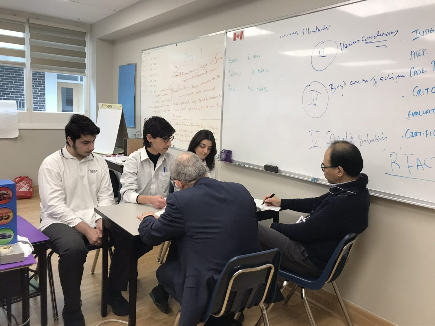 Critical Thinking and Students (Century Private School CritQ Accelerator)