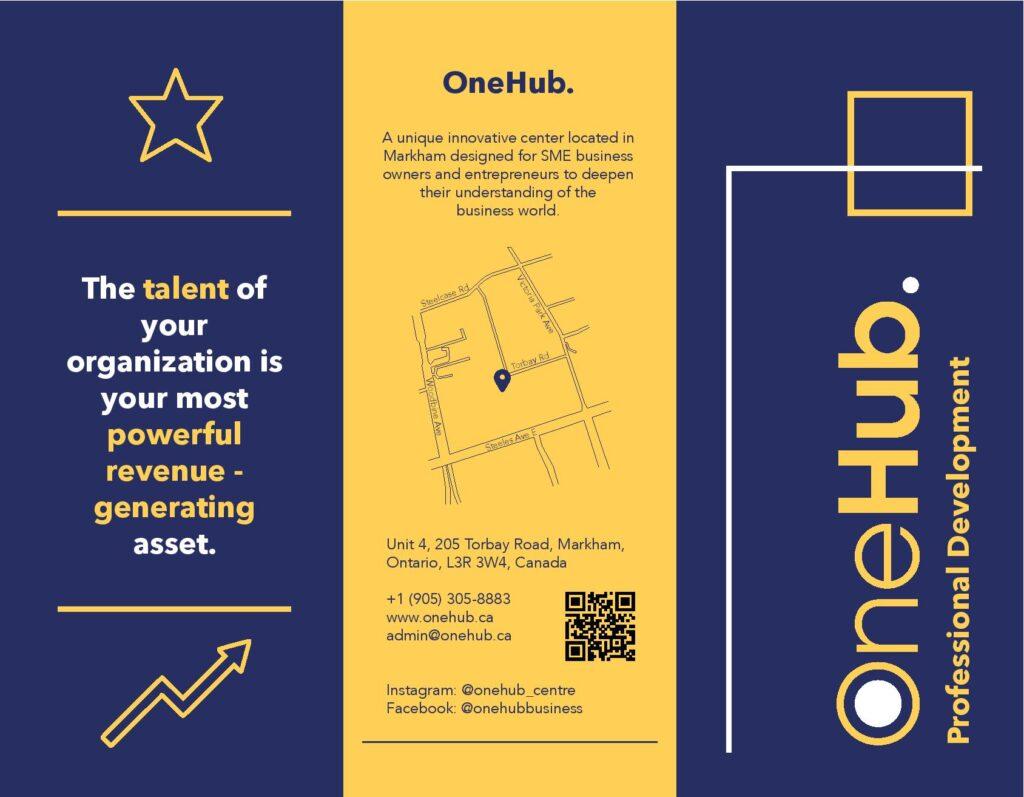 OneHub Professional Development Brochure