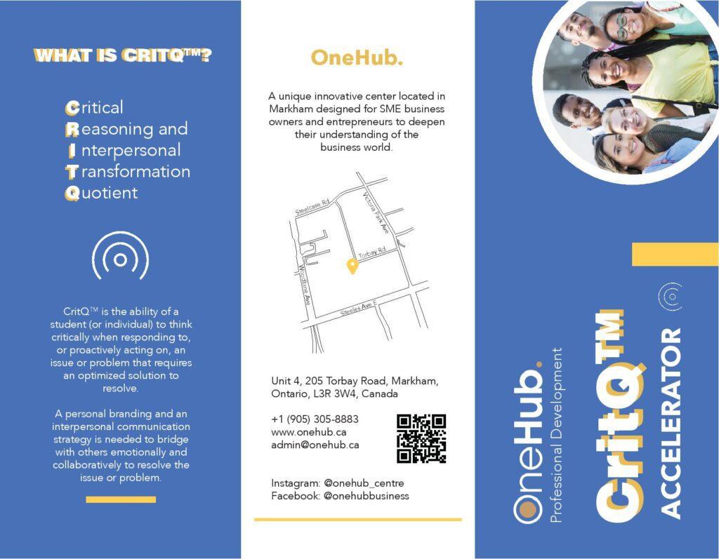 OneHub CritQ Brochure