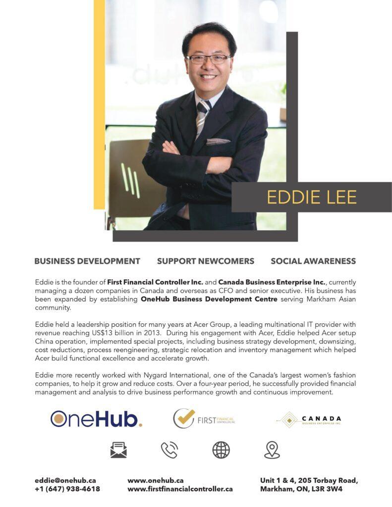 Eddie Lee OneHub Biography