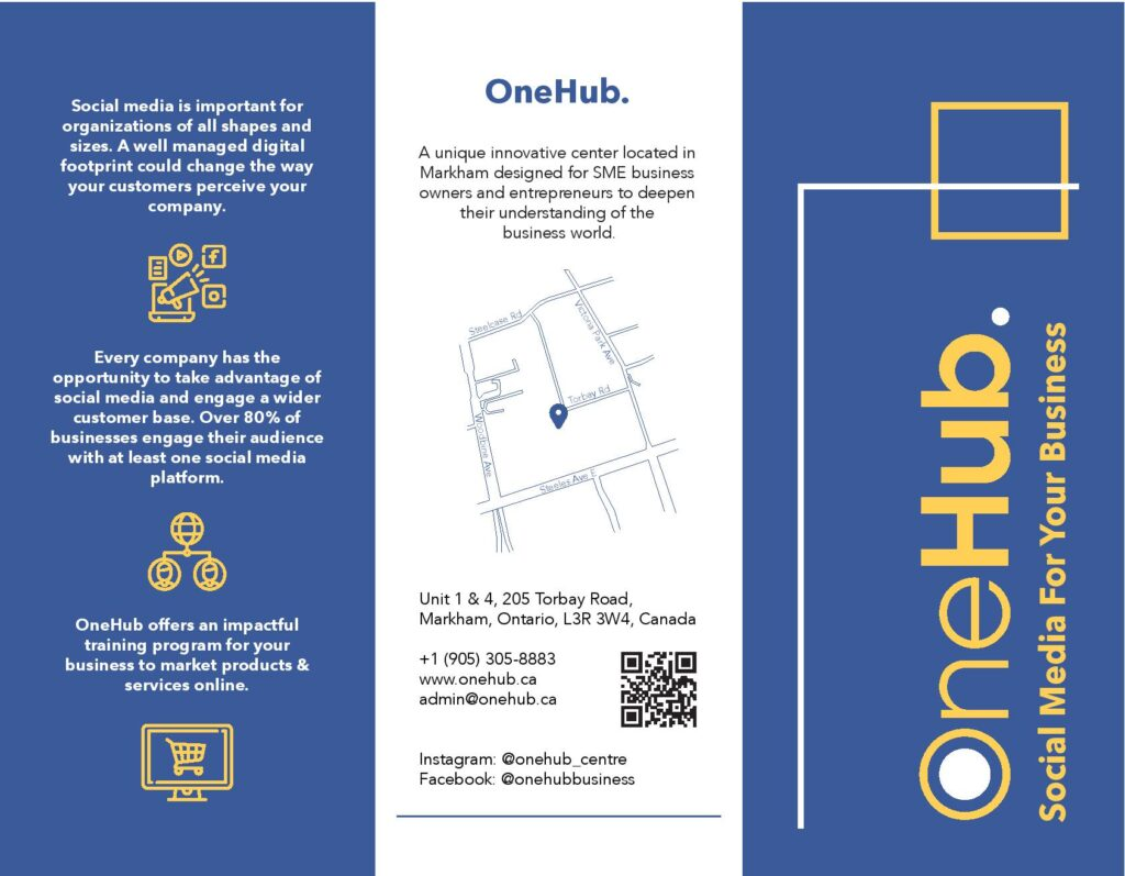 OneHub Social Media Brochure