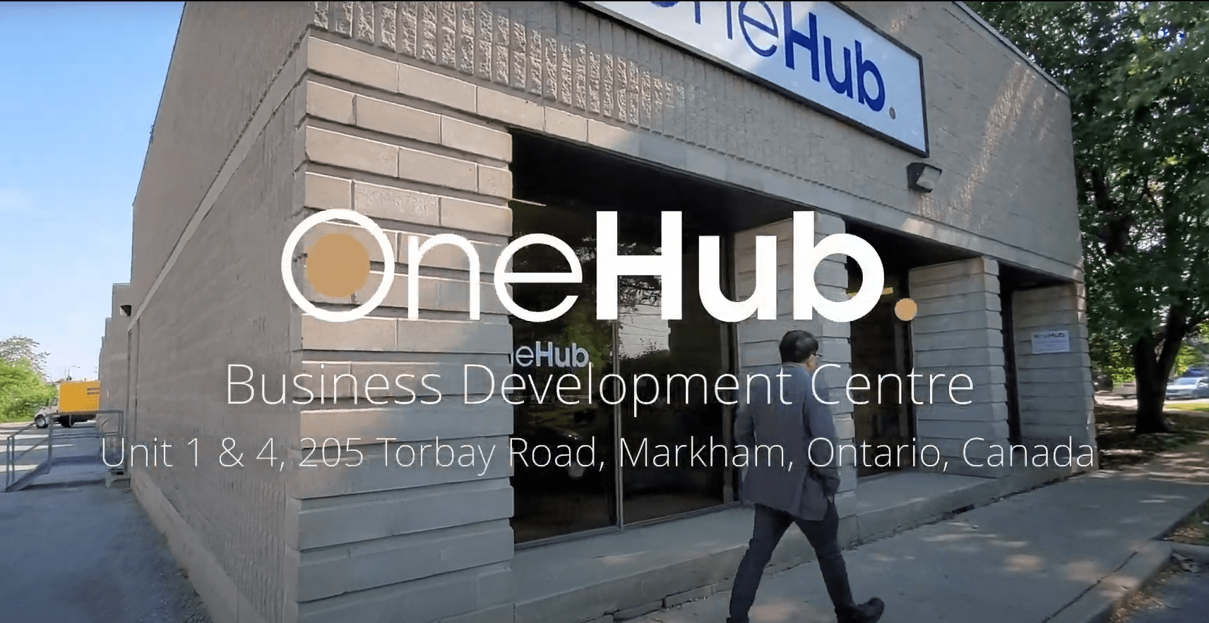 OneHub Business Introduction YouTube Video Thumbnail