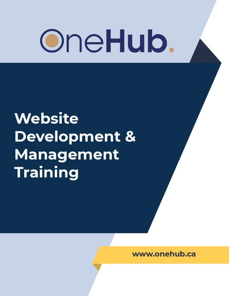 OneHub Website Development & Management Course